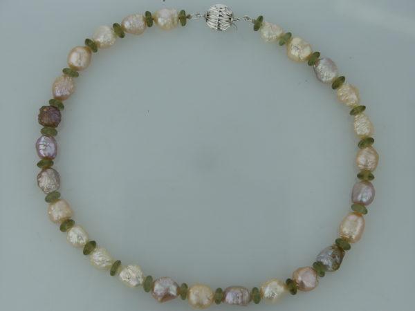 Collier de perles baroques Papageno