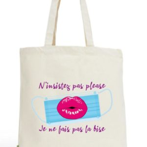 Tote bag N'insitez pas please