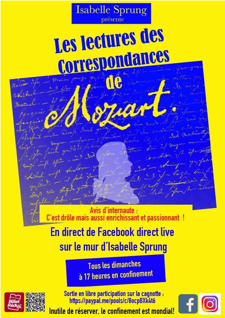 Les lectures des correspondances de Mozart
